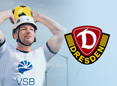 Dynamo Dresden und VSB besiegeln Partnerschaft